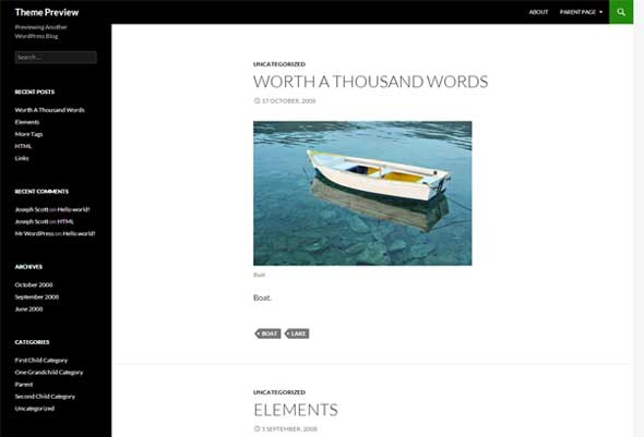 Twenty-Fourteen---Free-Blank-WordPress-Themes