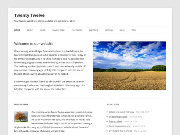 Twenty-Twelve---Free-Blank-WordPress-Themes