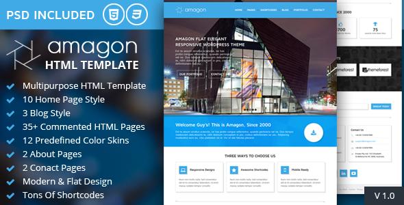 amagon-bootstrap-flat-multipurpose-html5-template