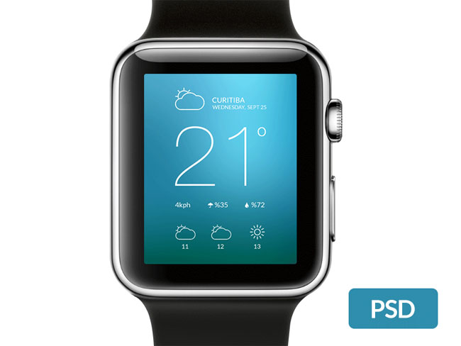 black-apple-watch-psd