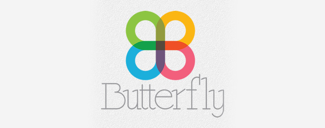 Beautiful Butterfly Logo Design