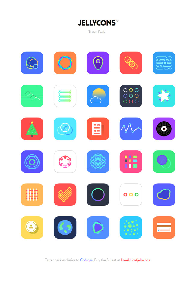 freebies iphone icons