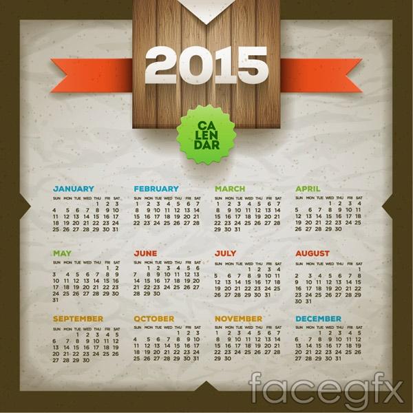 2015-calendar-design-vector