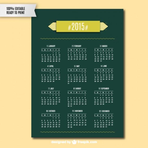 2015-calendar-vector-art