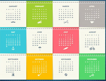 calendar 2015 template