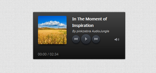 Amazing HTML5 Audio Player