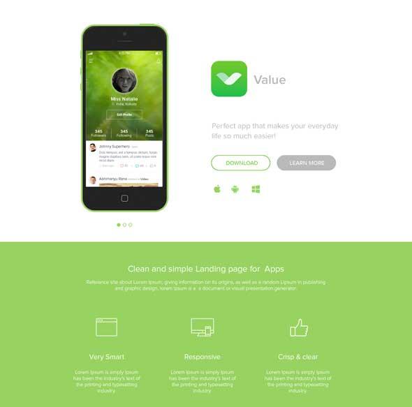 App-Landing--PSD-Template