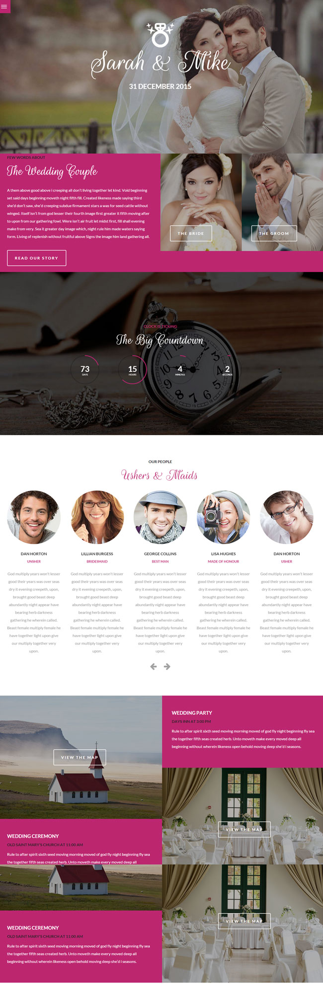 Big-Date-Wedding-WordPress-Theme
