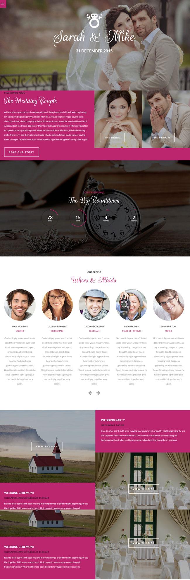 Big-Date-Wedding-WordPress-Theme