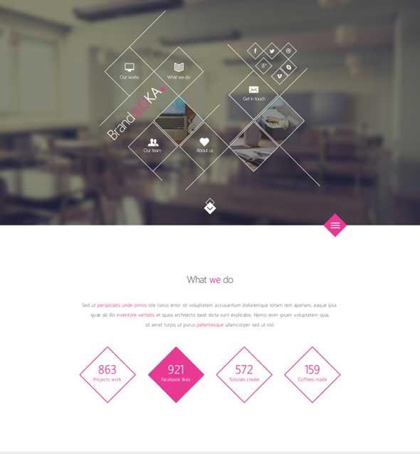 BrandaLoka-Creative-Onepage-PSD-Template