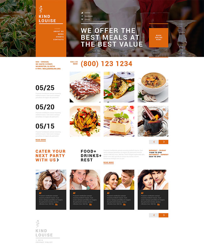 Cafe-House-Joomla-Template