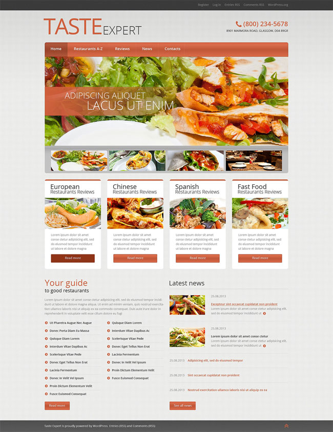 Cafe-and-Restaurant-WordPress-Theme