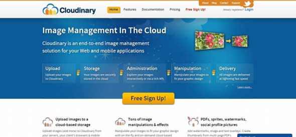 Cloudinary-CDN-Service