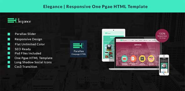 Elegance-Responsive-One-Page-HTML-Template