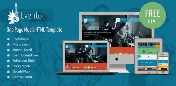 Evento-Free-Music-Event-Template