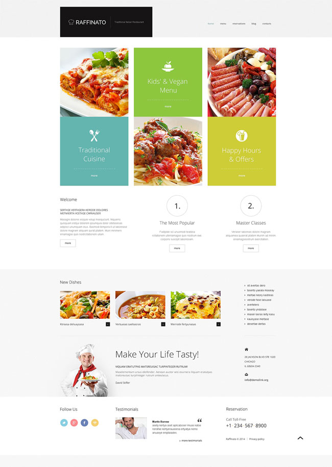 Fancy-Restaurant-WordPress-Theme