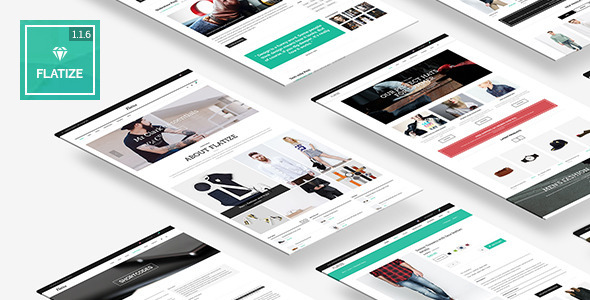 Flatize - Fashion WooCommerce WordPress Theme