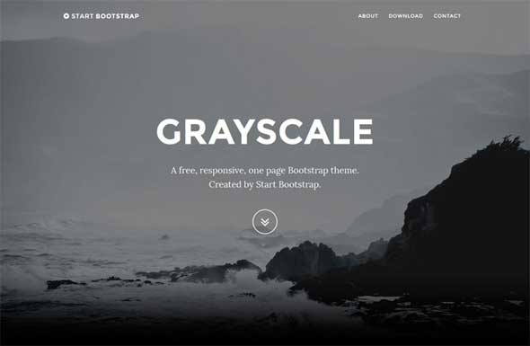 Free-Grayscale-Bootstrap-Theme