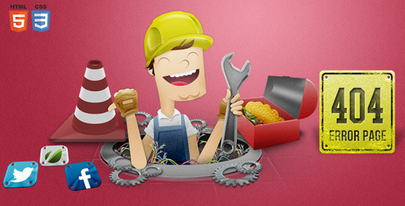 Handyman 404 Error Page