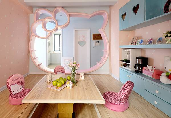 Dreamful  Hello Kitty Room Designs for Girls