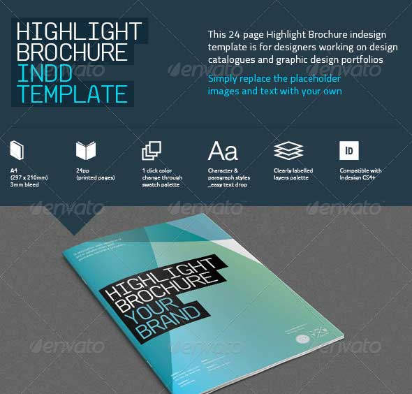 Highlight-Brochure-Template
