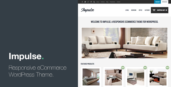Impulse - Responsive eCommerce WordPress Theme