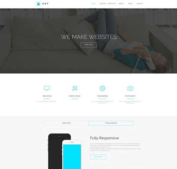 Ket-Single-Page-PSD-Web-Template