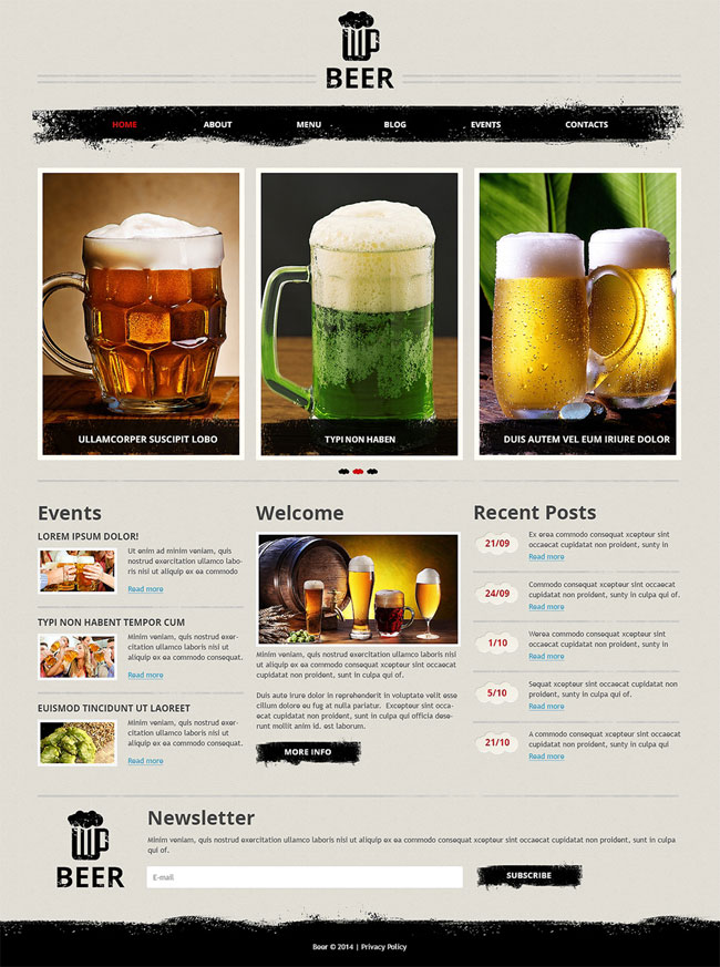 Magnificent-Beer-Pub-Joomla-Template