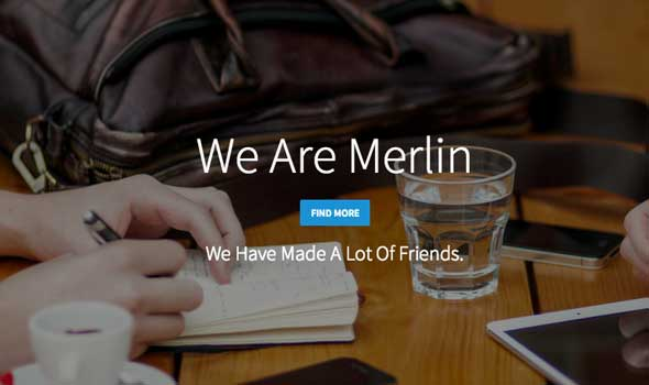Merlin-Free-Single-Page-Bootstrap-Template