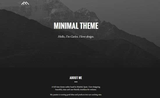 Minimal-Dark-Bootstrap-Template