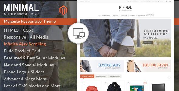 Minimal Multi Purpose - Responsive Magento Theme