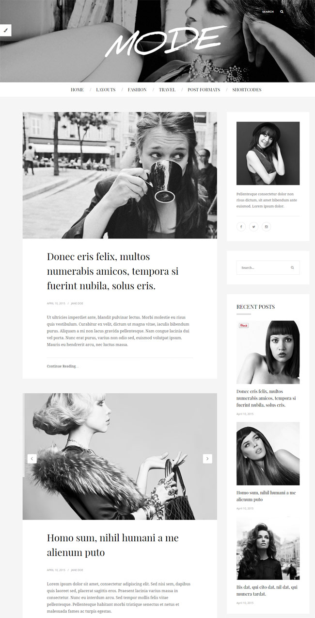 Mode-Fashion-Wordpress-Blog-Theme