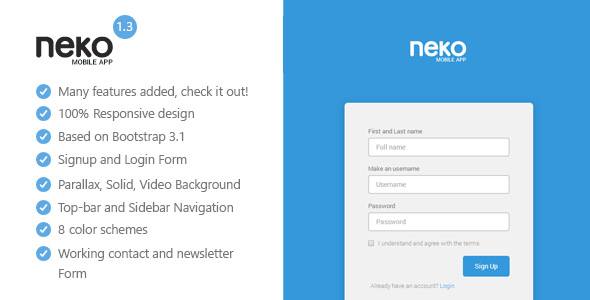 35 Best Html Responsive Landing Page Templates 2014