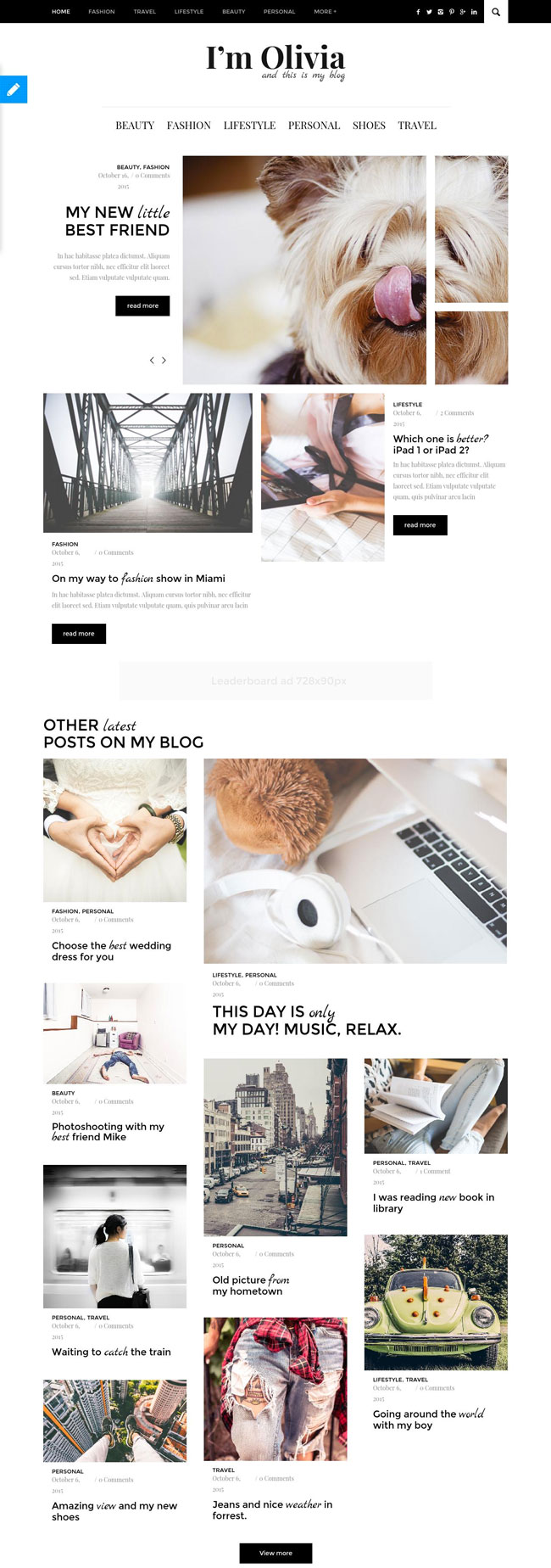 Olivia-Clean-Responsive-WordPress-Blog-Theme