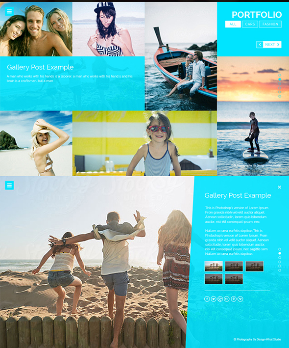 One-Page-PSD-Photograhpy-Template