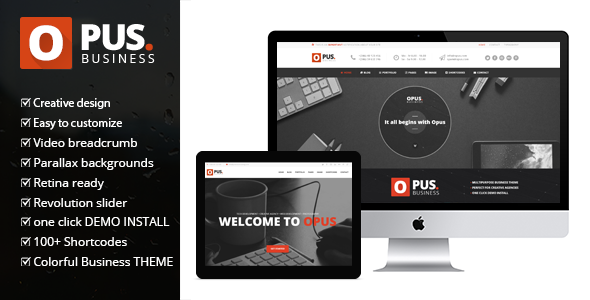 Opus - Multipurpose WooCommerce WordPress Theme