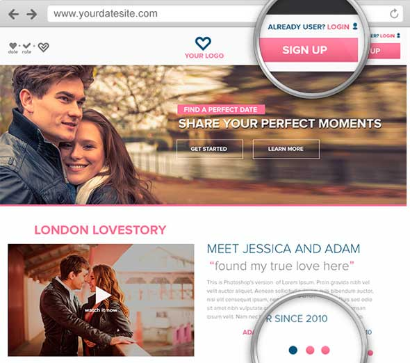 Banner Dating Site Swapping Web