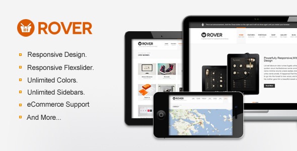 Rover Business & eCommerce WordPress Theme