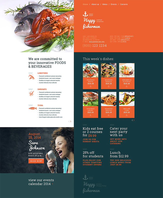 Seafood-Restaurant-Responsive-Website-Template