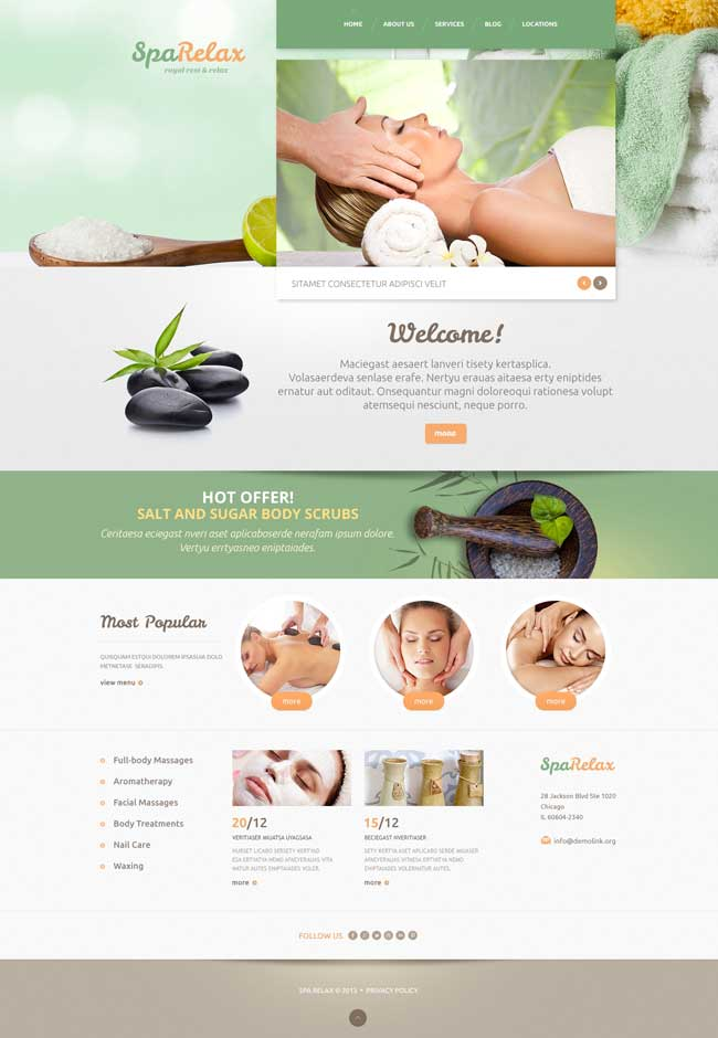 Spa-salon-WordPress-Theme