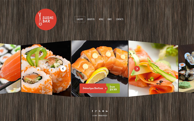 Sushi-Bar-Website-Template