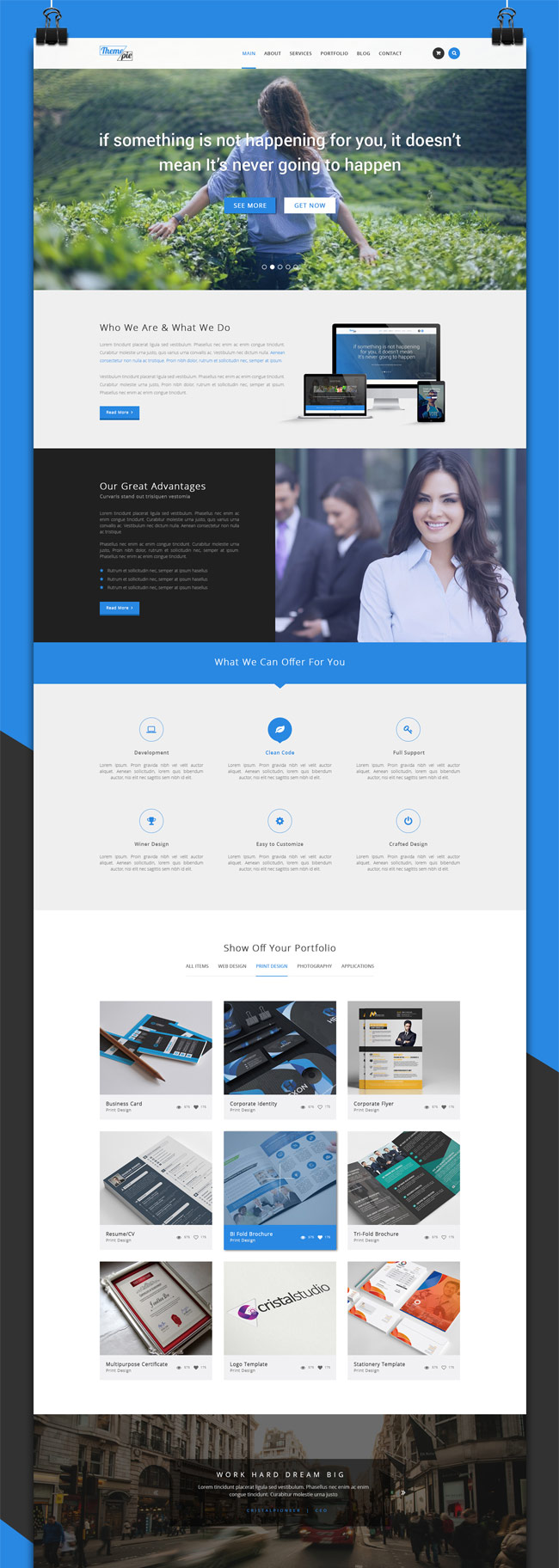what is a psd template - 30 free psd portfolio website templates designmaz