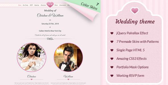 Wedding Event - Responsive Marriage Invite Theme