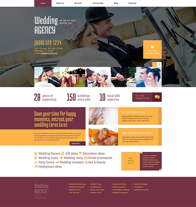 Wedding-Planner-Responsive-WordPress-Theme