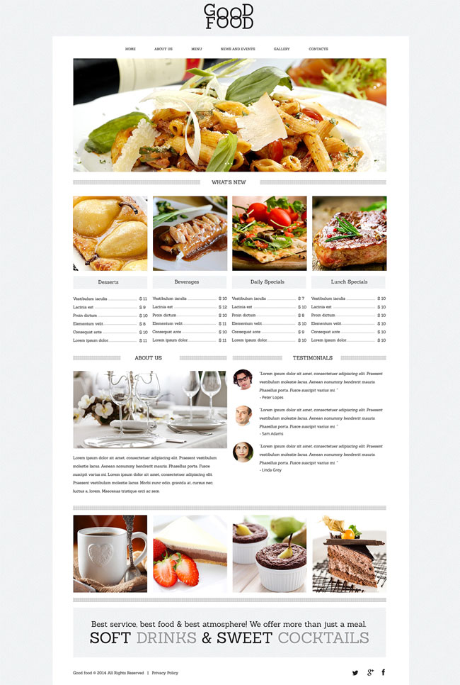 Yummy-Food-Drink-Cafe-Drupal-Template