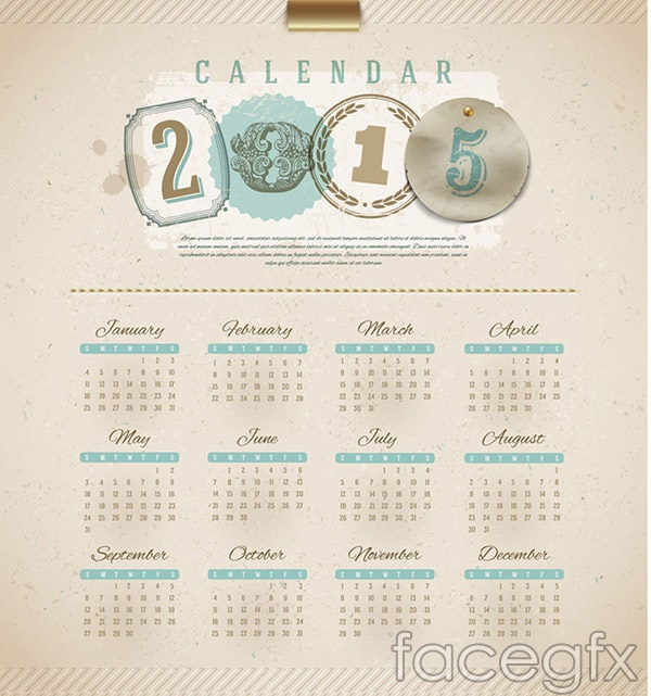 classic-hand-painted-sheep-calendar-vector