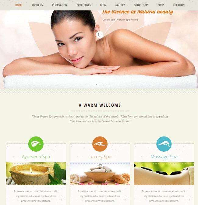 dream-spa-responsive-beauty-salon-wordpress-theme