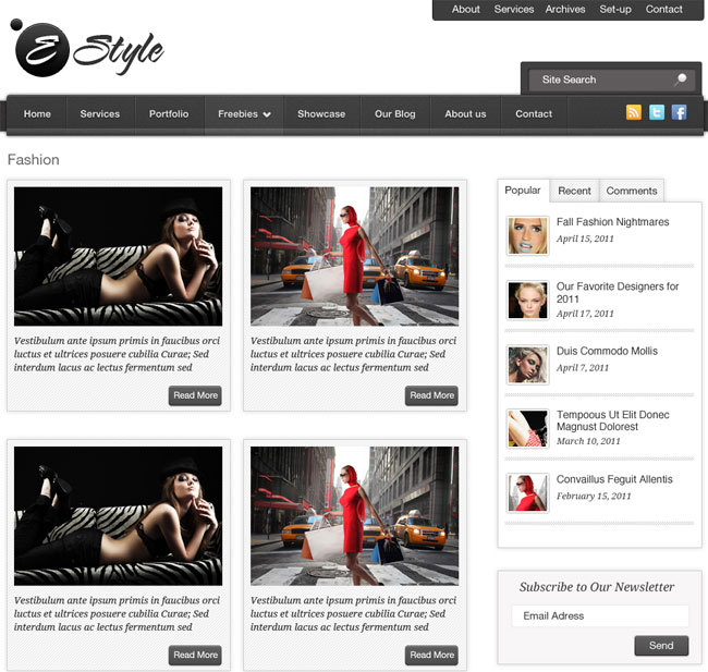 e-style-a-fashion-wordpress-theme