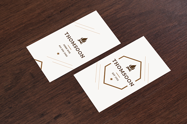 Free Business Card and Tablet PSD Mockup 5