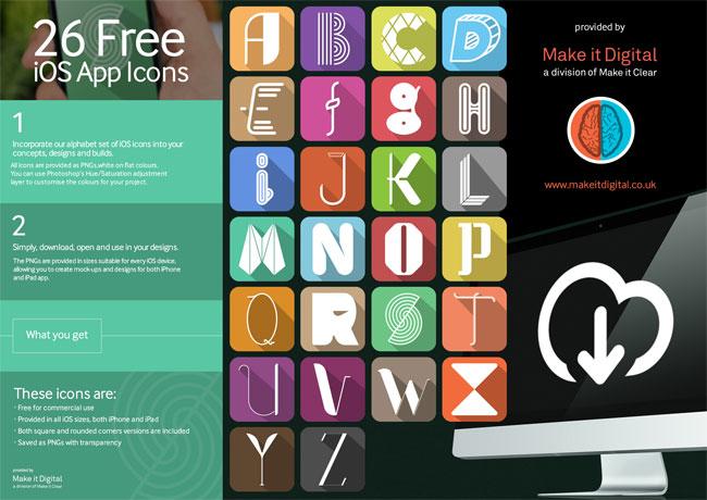 free-ios-alphabet-app-icons
